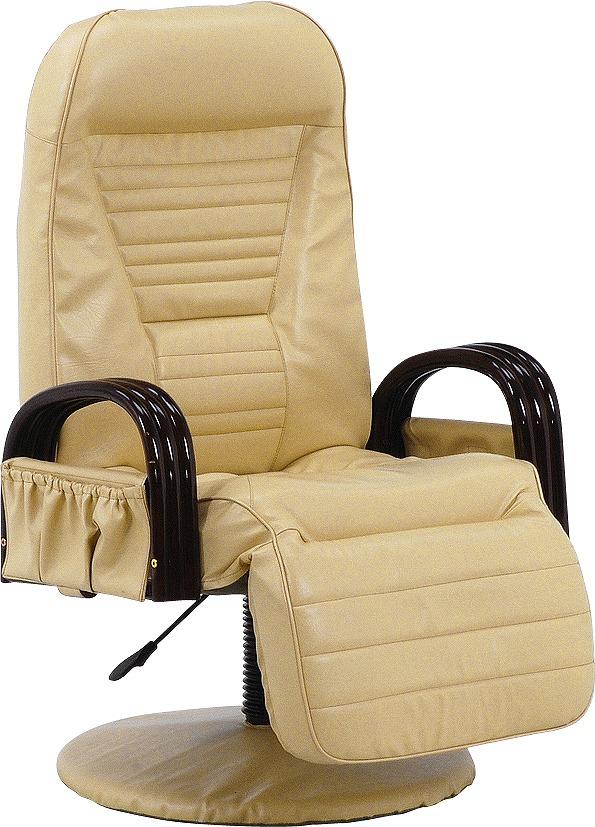 【送料無料】回転座椅子 LZ-4129IV【代引不可】