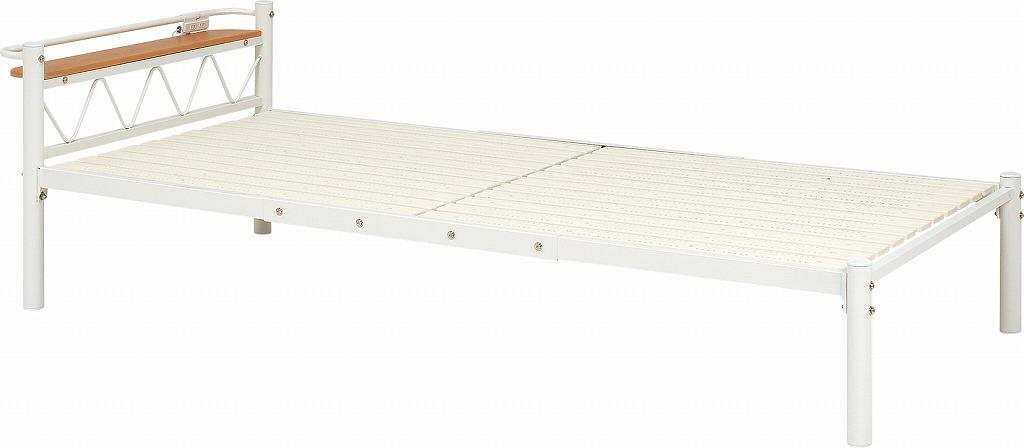 シングルベッド KH-3704-IV【代引不可】【北海道・沖縄・離島配送不可】