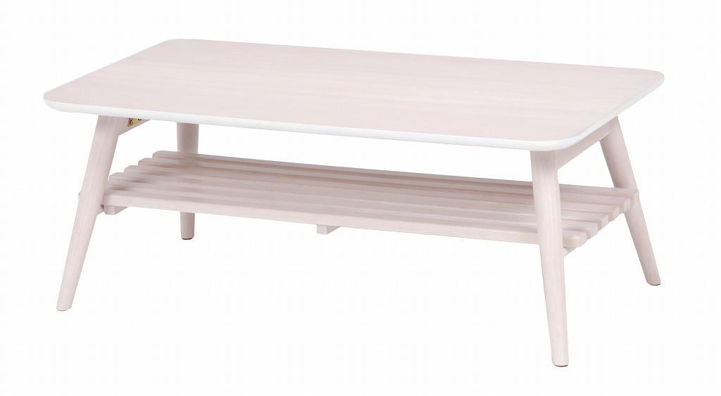 折れ脚テーブル MT-6921WS【代引不可】【北海道・沖縄・離島配送不可】