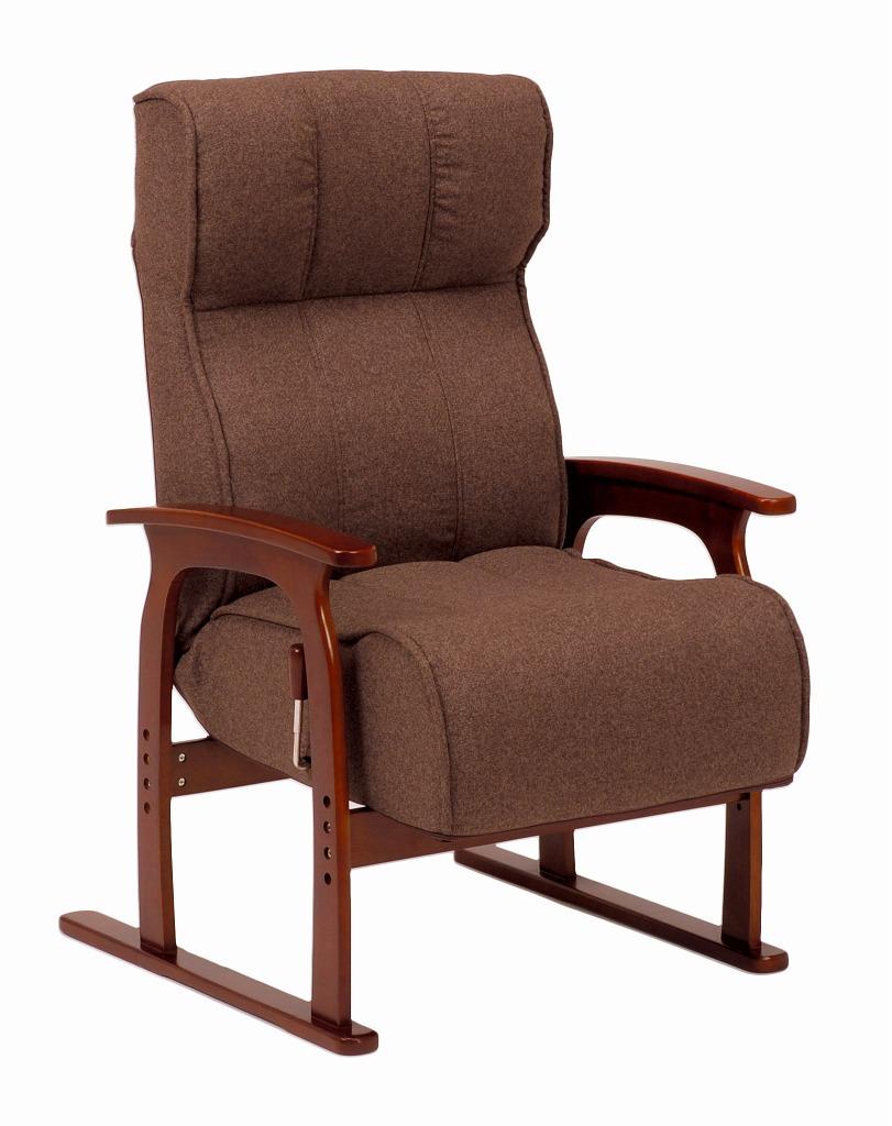 【送料無料】座椅子 LZ-4303BR【代引不可】