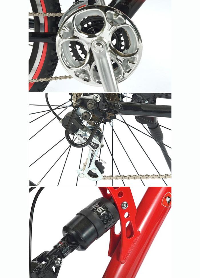 托尼诺 · 兰博基尼 26 寸山地车 (山地自行车) 18 级传输来回 W Sass TL-961 新