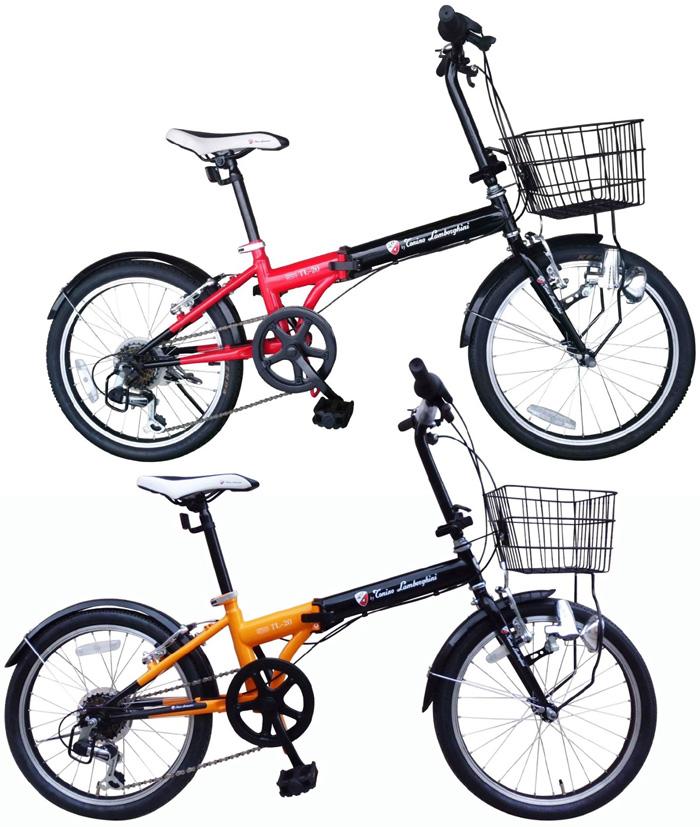 tonino·Lambordghini 20英寸折叠自行车6段变速一体式乳罩紧身衣TL-20