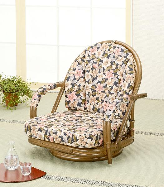 【送料無料】回転座椅子S887B【代引不可】