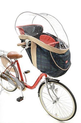OGK技研 まえ幼児座席用ソフト風防レインカバー RCH-003 InRedコラボレーションモデル チェック 32387【代引不可】