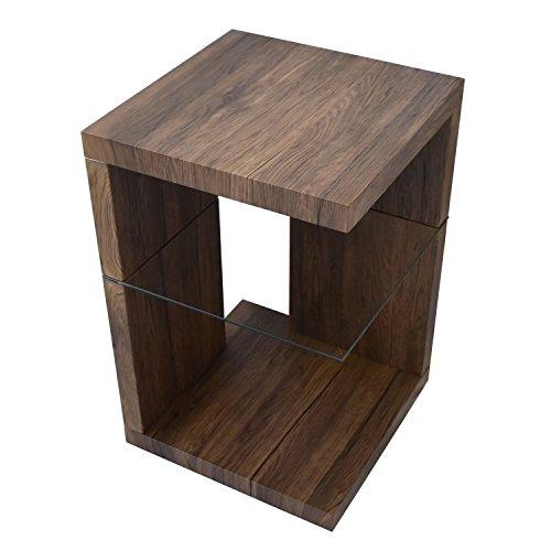 BBファニシング SAND サイドテーブル ブラウン 幅39.6×奥行39.6×高さ60.5cm SNST-39BR SNST-39BR【代引不可】