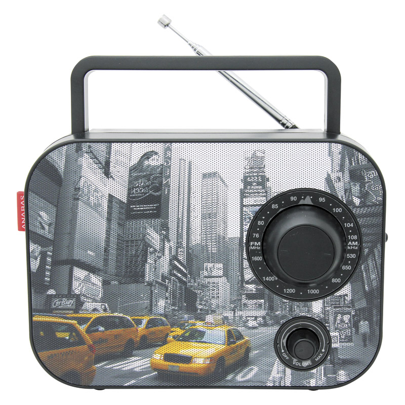 [gift] ANABAS colorful radio New York AR-30NY