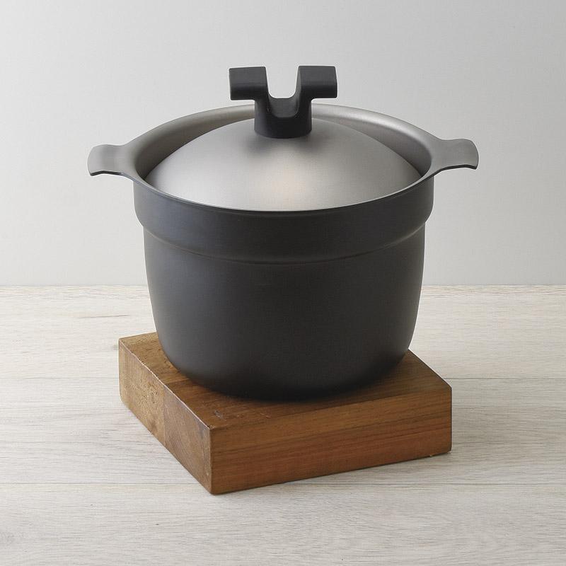 〔ギフト〕ライスポット 炊飯鍋 T-タイプ  2合 RP-2T