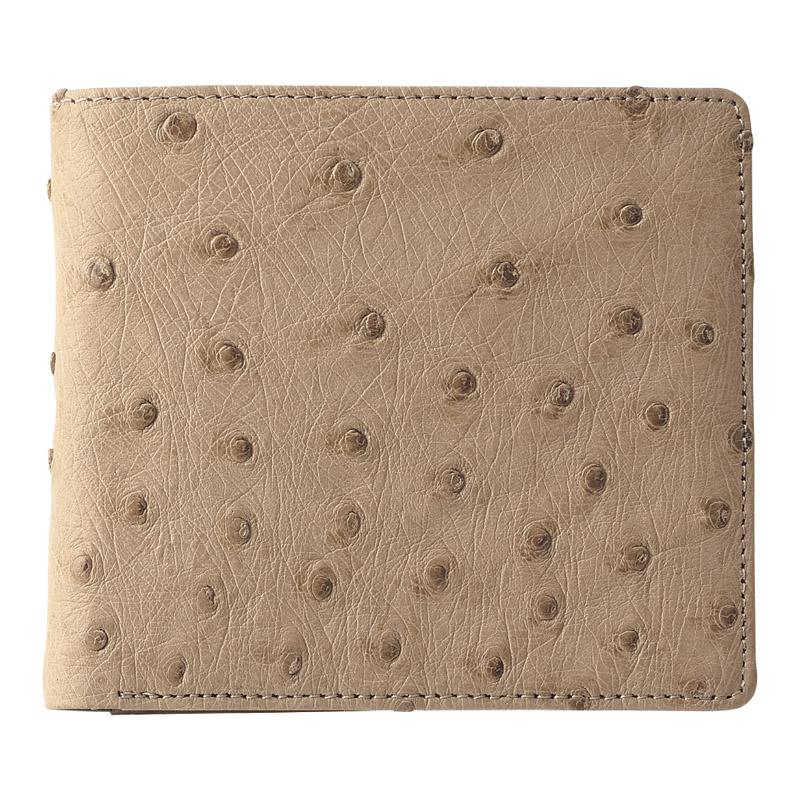 【送料無料】〔ギフト〕紳士用オーストリッチ財布 BE S-NO8250040B【代引不可】