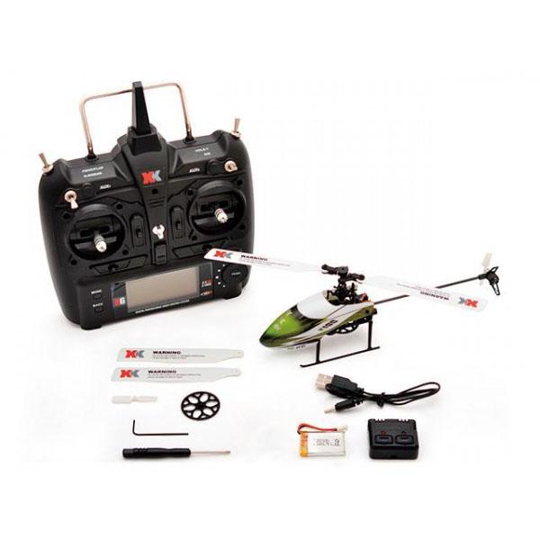 【送料無料】ハイテック XK製品 6CH 3D6Gシステムヘリコプター RCヘリ K100 RTFキット【代引不可】