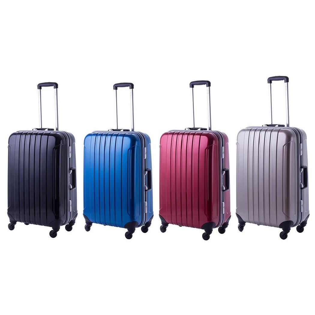 協和 MANHATTAN EXP (マンハッタンエクスプレス) 軽量スーツケース フリーク Mサイズ ME-22 ブラック・53-20021【代引不可】【北海道・沖縄・離島配送不可】