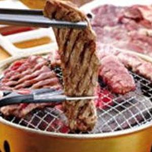 【送料無料】亀山社中 焼肉 バーベキューセット 4 はさみ・説明書付き【代引不可】