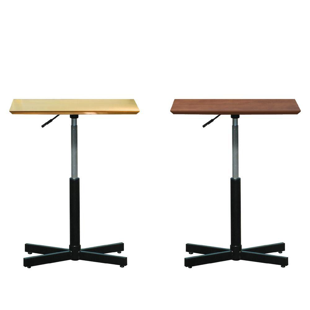 【送料無料】ルネセイコウ 昇降テーブル ブランチ ヘキサテーブル 日本製 組立品 BRX-645T D・ダークブラウン・ブラック【代引不可】