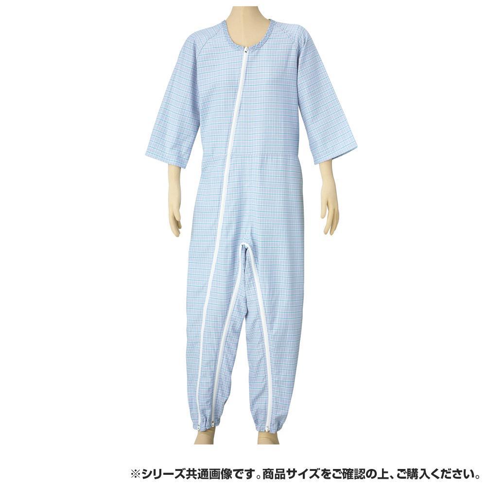 つなぎねまきビエラWファスナーII型フック ブルー LLサイズ 4300 【代引不可】【北海道・沖縄・離島配送不可】