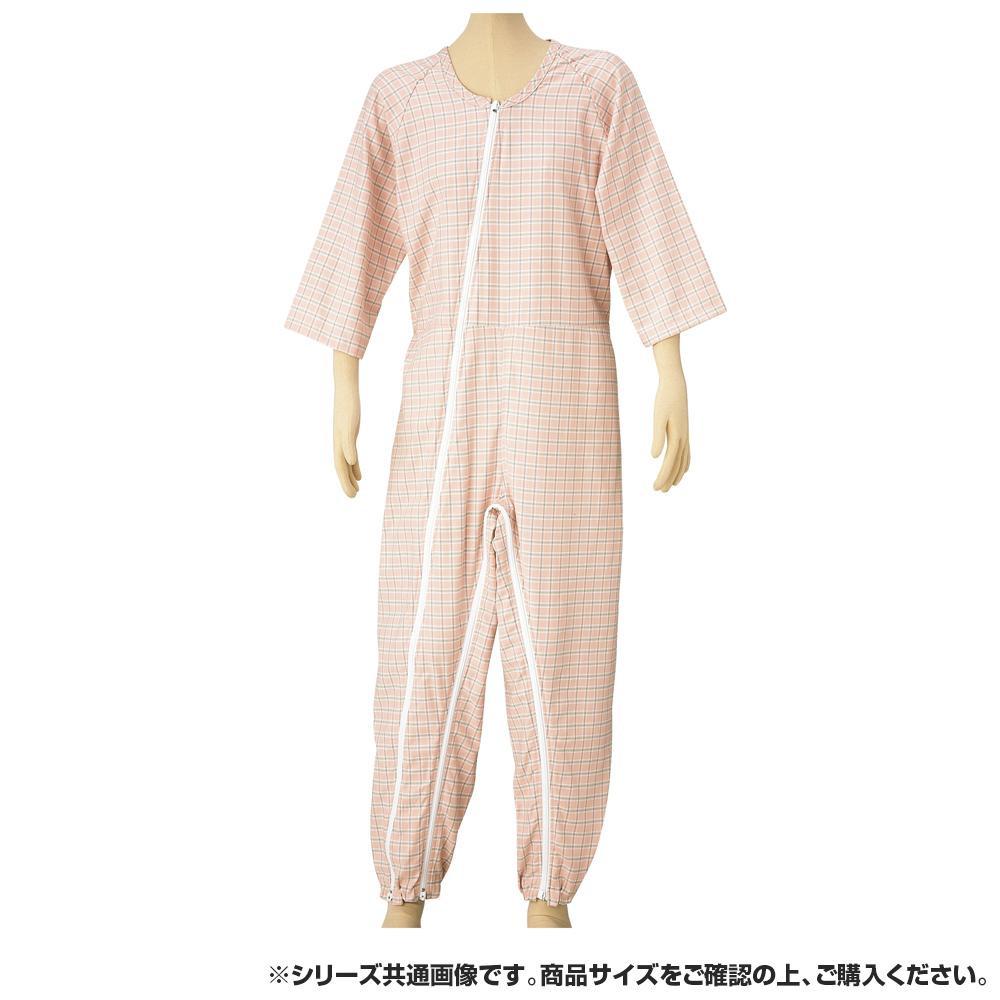 つなぎねまきビエラWファスナーII型フック ピンク LLサイズ 4300 【代引不可】【北海道・沖縄・離島配送不可】