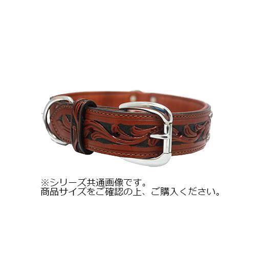 Angel Mesa Collar 犬用首輪 Brown 11058 【代引不可】【北海道・沖縄・離島配送不可】