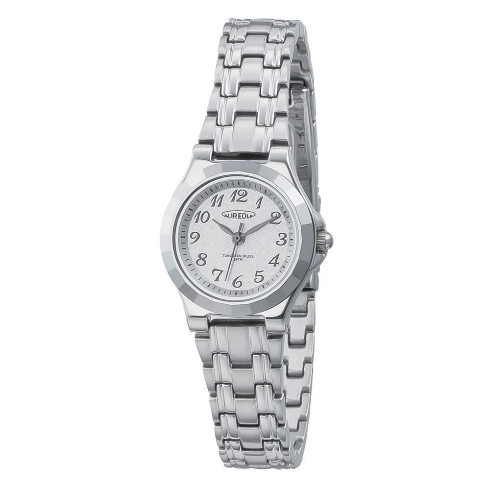 AUREOLE(オレオール) 超硬 レディース 腕時計 SW-597L-03 【代引不可】【北海道・沖縄・離島配送不可】