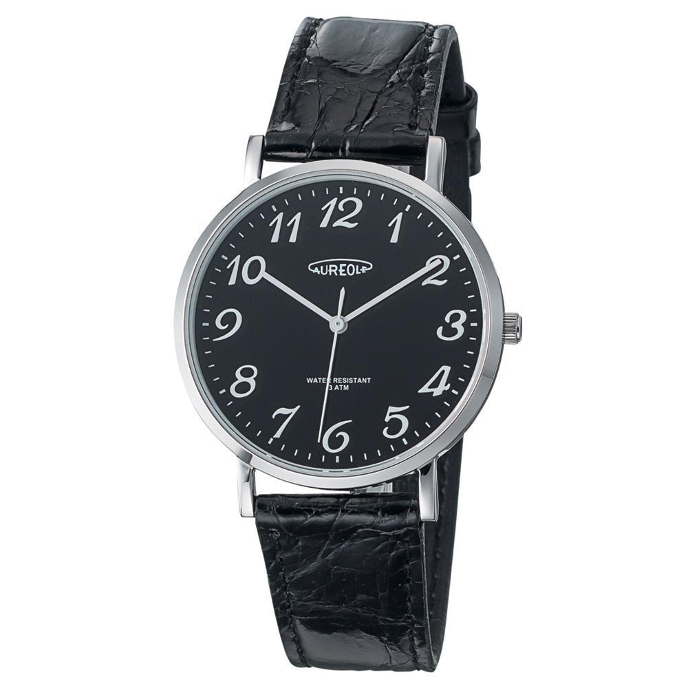 AUREOLE(オレオール) ドレス メンズ 腕時計 SW-613M-04 【代引不可】【北海道・沖縄・離島配送不可】