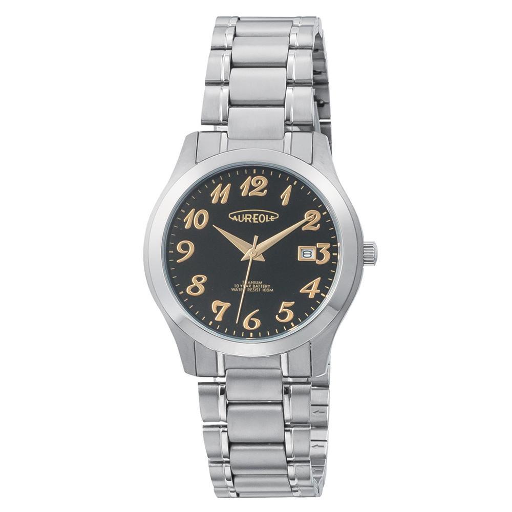AUREOLE(オレオール) ドレス メンズ 腕時計 SW-598M-01 【代引不可】【北海道・沖縄・離島配送不可】