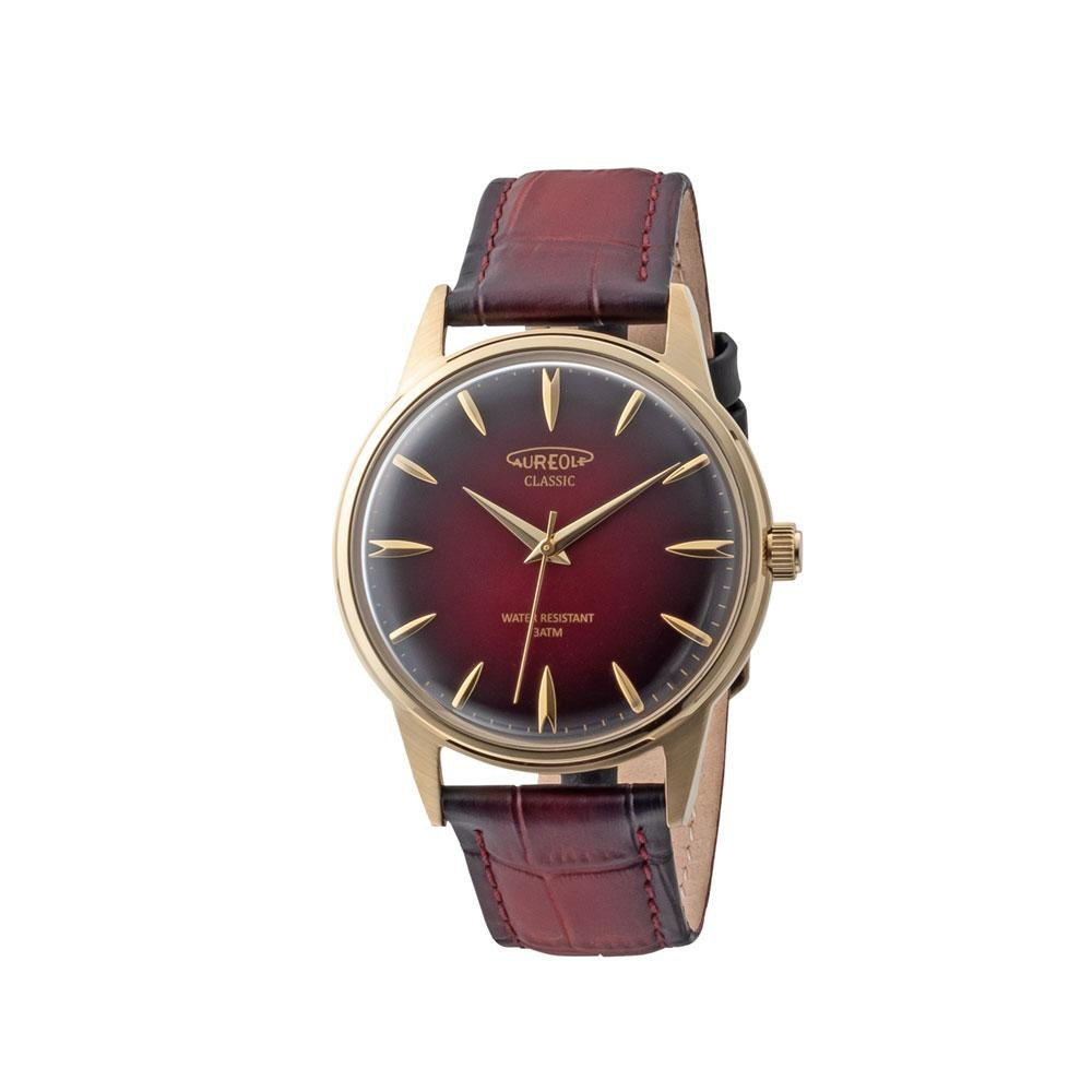 AUREOLE(オレオール) ドレス メンズ 腕時計 SW-618M-05 【代引不可】【北海道・沖縄・離島配送不可】