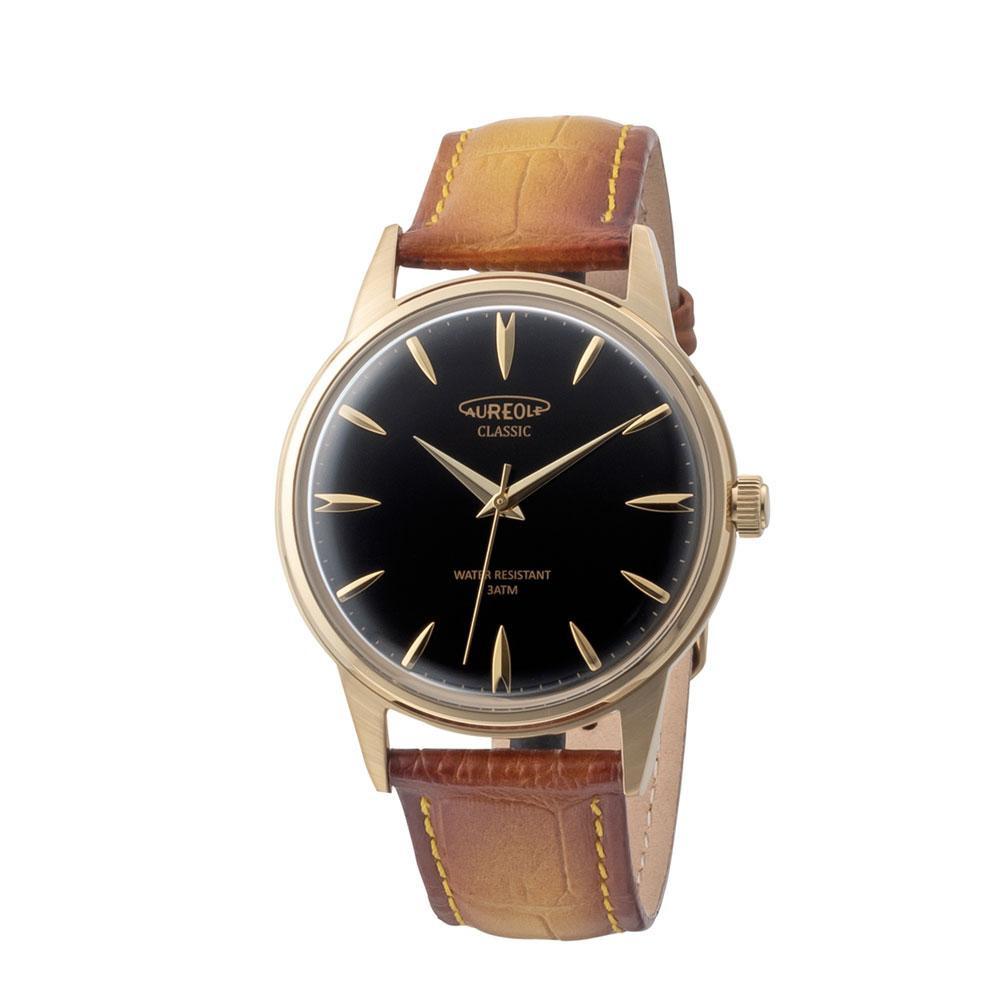 AUREOLE(オレオール) ドレス メンズ 腕時計 SW-618M-06 【代引不可】【北海道・沖縄・離島配送不可】