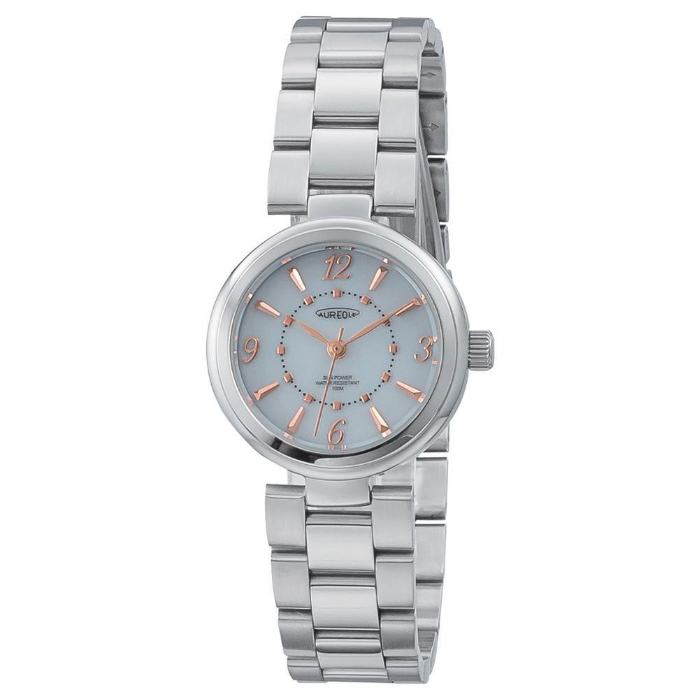 AUREOLE(オレオール) ソーラー レディース 腕時計 SW-596L-04 【代引不可】【北海道・沖縄・離島配送不可】
