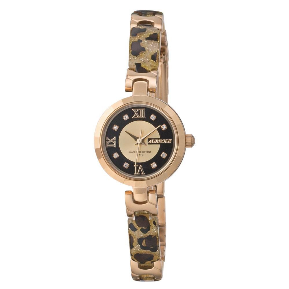 AUREOLE(オレオール) 日本製 レディース 腕時計 SW-588L-A 【代引不可】【北海道・沖縄・離島配送不可】