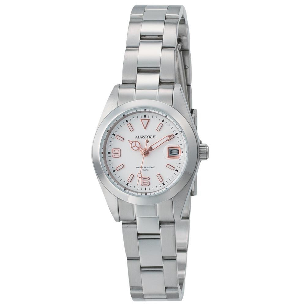 AUREOLE(オレオール) 日本製 レディース 腕時計 SW-591L-E 【代引不可】【北海道・沖縄・離島配送不可】