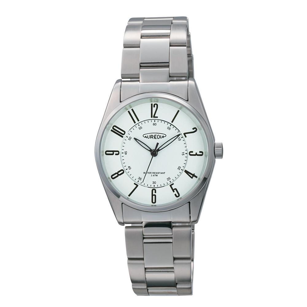 AUREOLE(オレオール) 日本製 メンズ 腕時計 SW-594M-F 【代引不可】【北海道・沖縄・離島配送不可】