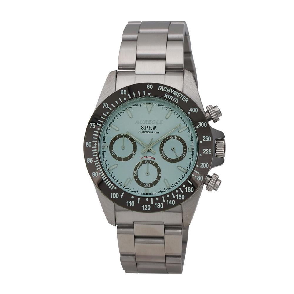 AUREOLE(オレオール) S.P.F.W メンズ 腕時計 SW-610M-06 【代引不可】【北海道・沖縄・離島配送不可】