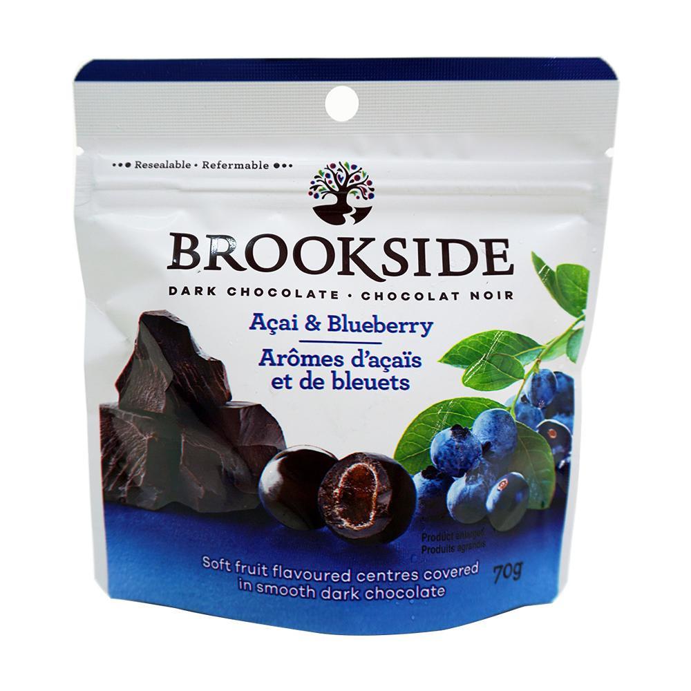 ブルックサイド ダークチョコレート アサイー&ブルーベリー 70g×40袋 【代引不可】【北海道・沖縄・離島配送不可】