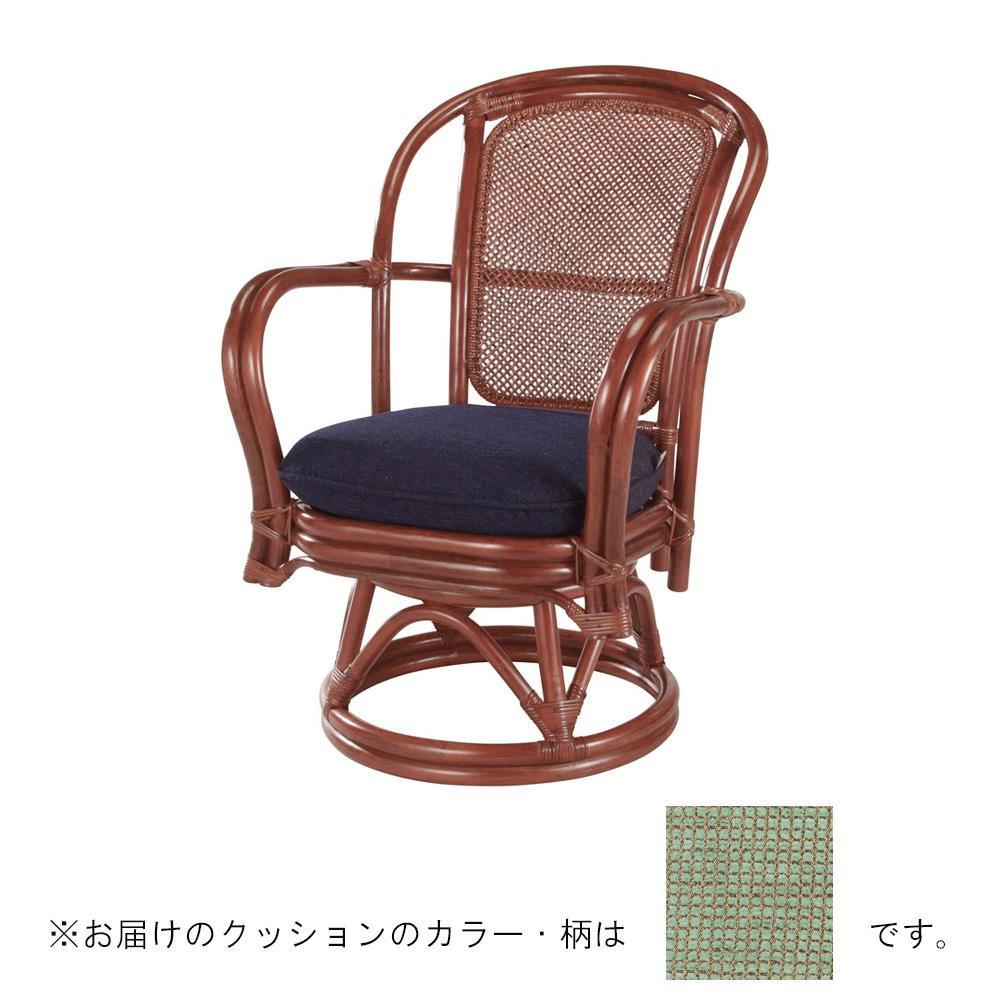 【送料無料】今枝ラタン 籐 シーベルチェア 回転椅子 スコルピス A-230MD 【代引不可】