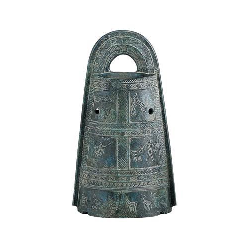 銅製の置物です。 【送料無料】高岡銅器 銅製置物 銅鐸 小 52-01 【代引不可】
