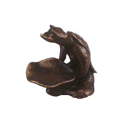 高岡銅器 銅製香立 和雲作 香立 河童 136-01 【代引不可】