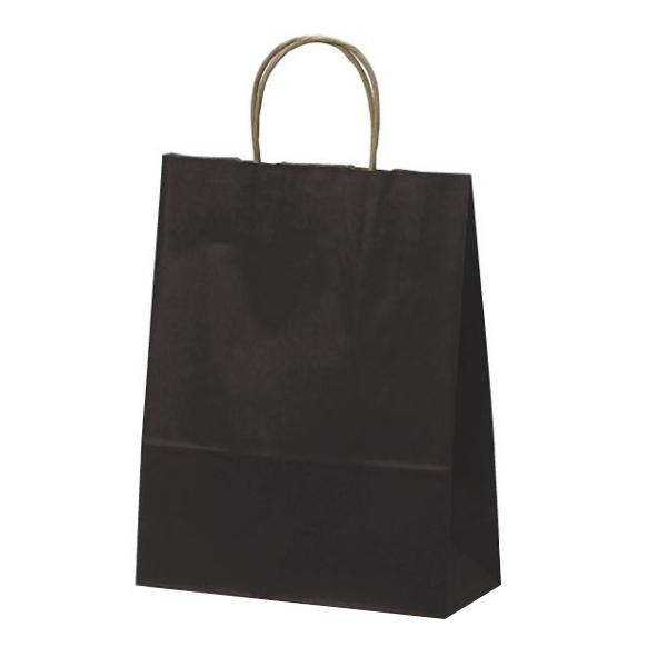 T-X 自動紐手提袋 紙袋 紙丸紐タイプ 260×110×330mm 200枚 カラー(カカオ) 1584 【代引不可】【北海道・沖縄・離島配送不可】