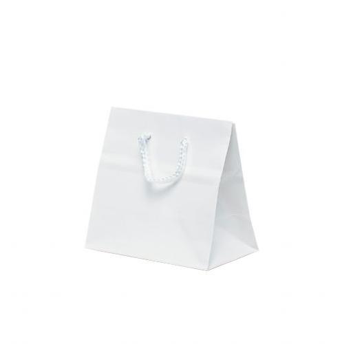 キュートバッグ 手提袋 120×70×115mm 100枚 ホワイト 5927 【代引不可】【北海道・沖縄・離島配送不可】