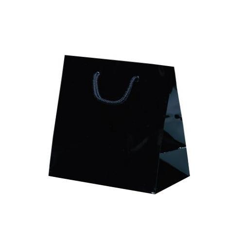 リトルバッグ 手提袋 165×90×160mm 100枚 ブラック 1500 【代引不可】【北海道・沖縄・離島配送不可】