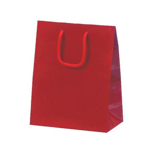 ミニバッグ 手提袋 190×110×250mm 100枚 ワイン 1046 【代引不可】【北海道・沖縄・離島配送不可】