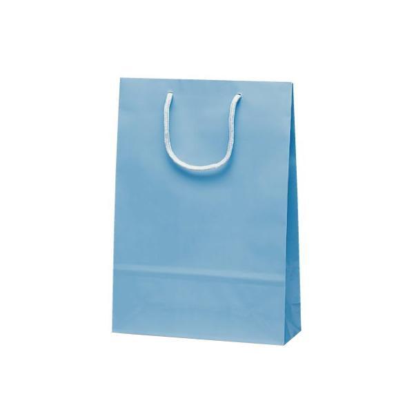 ナイスバッグ 手提袋 225×80×320mm 50枚 ブルー 1157 【代引不可】【北海道・沖縄・離島配送不可】