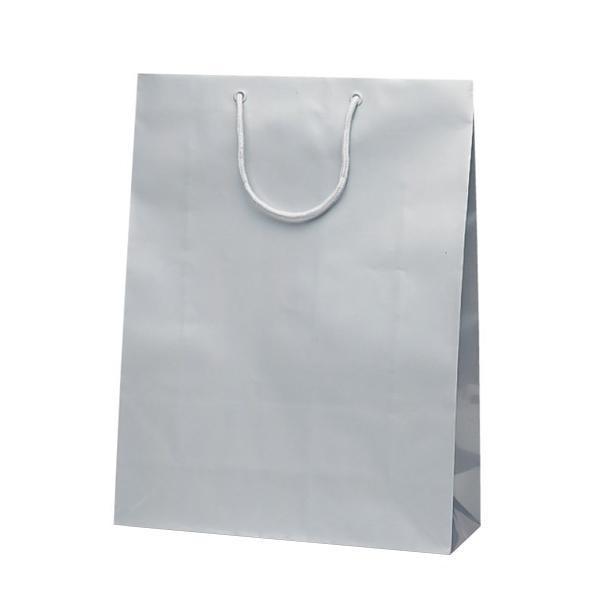 グランドバッグ 手提袋 380×145×500mm 50枚 シルバー 1147 【代引不可】【北海道・沖縄・離島配送不可】