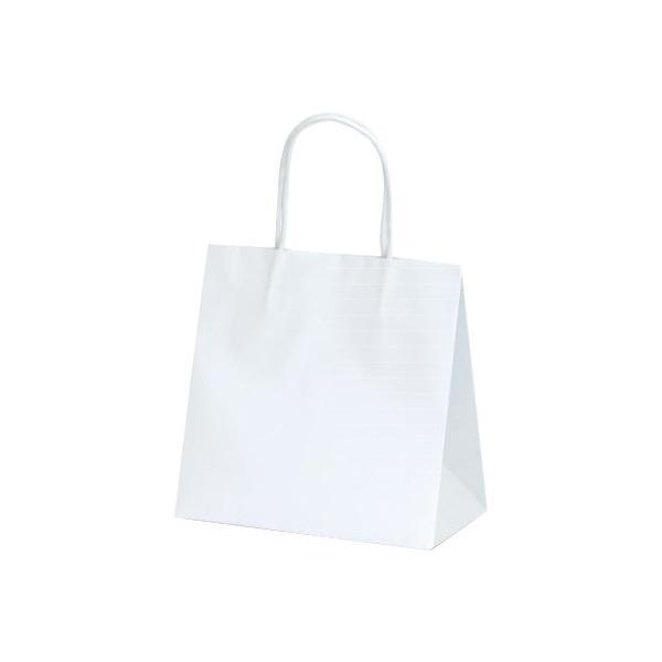 マットバッグ(SS) 手提袋 220×120×220mm 100枚 ホワイト 1079 【代引不可】【北海道・沖縄・離島配送不可】