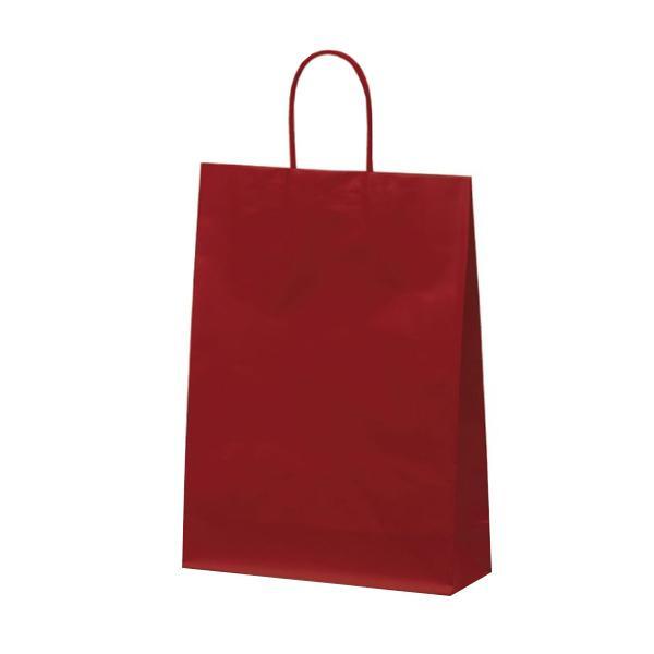 マットバッグ(L) 手提袋 320×110×430mm 50枚 ワイン 1062 【代引不可】【北海道・沖縄・離島配送不可】