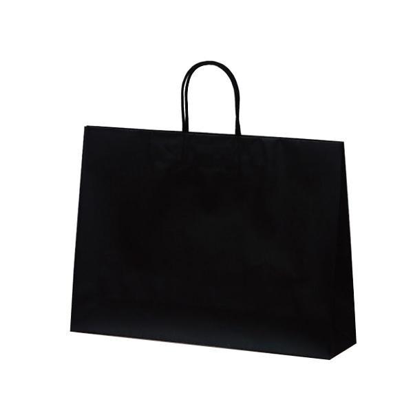 マットバッグ(Y) 手提袋 430×110×320mm 50枚 ブラック 1071 【代引不可】【北海道・沖縄・離島配送不可】