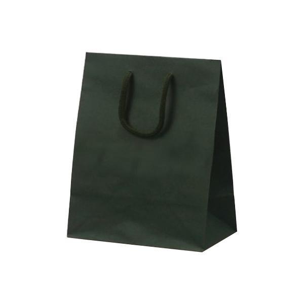T-2 カラークラフト 紙袋 200×120×250mm 100枚 グリーン 1026 【代引不可】【北海道・沖縄・離島配送不可】