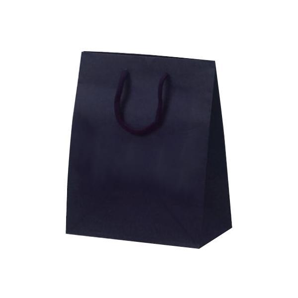 T-2 カラークラフト 紙袋 200×120×250mm 100枚 ネイビー 1025 【代引不可】【北海道・沖縄・離島配送不可】