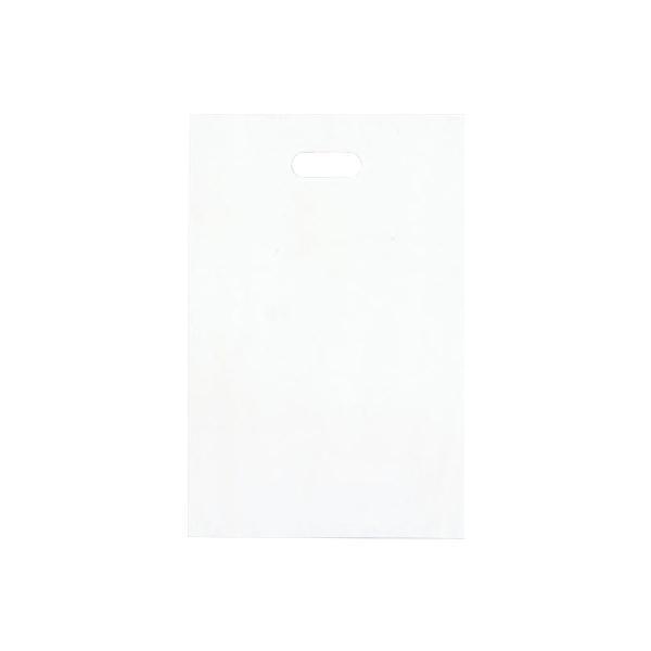 シティバッグ ポリ手提袋 S 290×440mm 500枚 ホワイト 4193 【代引不可】【北海道・沖縄・離島配送不可】