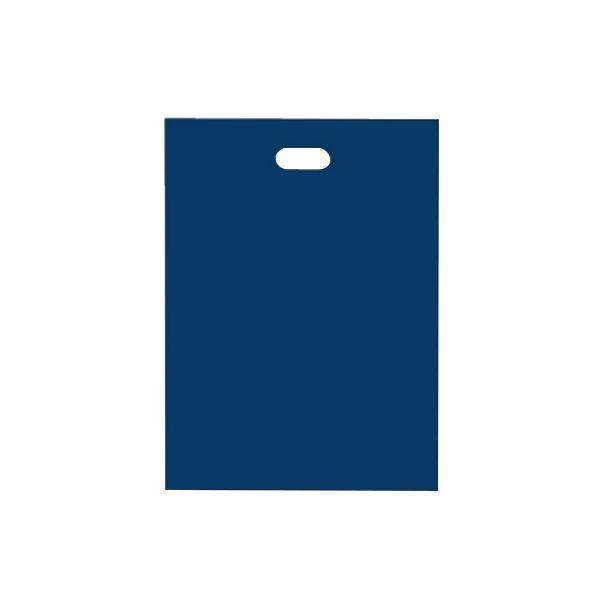 シティバッグ ポリ手提袋 M 370×500mm 300枚 ネイビー 4206 【代引不可】【北海道・沖縄・離島配送不可】