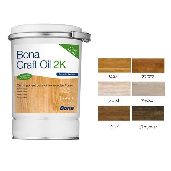 自然塗料仕上剤 オイルフィニッシュ Bonaクラフトオイル 2K グラファイト・GT573114001 【代引不可】【北海道・沖縄・離島配送不可】