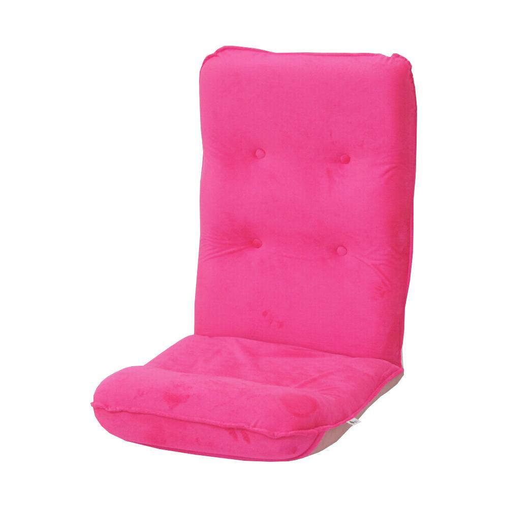 ハイバック座椅子 ボア ピンク 【代引不可】【北海道・沖縄・離島配送不可】