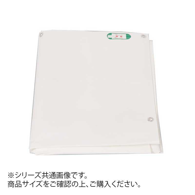 萩原工業 日本製 PE防炎シート ホワイト 5.4m×5.4m 【代引不可】【北海道・沖縄・離島配送不可】