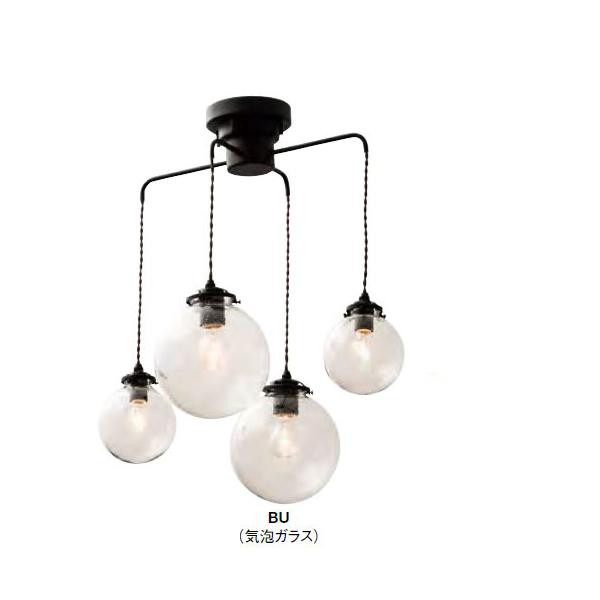 ペンダントライト Orelia(C) オレリアC LT-1948BU(気泡ガラス) 【代引不可】【北海道・沖縄・離島配送不可】
